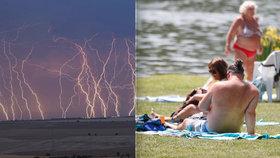 Tropy v Česku: V pondělí bude až 33 °C. Přijdou i silné bouřky, sledujte radar