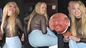 Opomíjená dcera Donalda Trumpa: Je to celý táta! Cestou z večírku se sotva držela na nohou