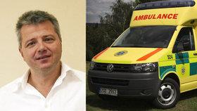 Dlouhé prsty kauzy kolem Ratha: Rezignoval šéf středočeské záchranky Houdek