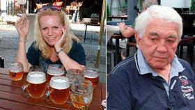 Pořádná pivní nálož: Léčená alkoholička Krampolová s 8 půllitry!
