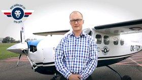 Právník chce obletět zeměkouli v letadle z roku 1979. Dělám to pro Čechy, říká