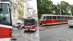 """Odklon """"dvojky"""" z Karlova náměstí naštval cestující: Má smysl, říká expert. U Lazarské se může tvořit špunt"""