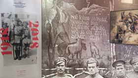 Prvním padlým legionářem byl Lumír Březovský (†16). Výstava připomíná československé legie ve Francii