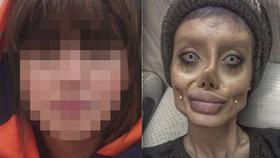Žena, která vypadá jako mrtvola Angeliny Jolie, odhalila svou pravou tvář: To by nikdo nečekal