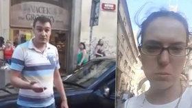 Taxikář, který napadl Amálii (30): Ta facka byla výchovná, řekla mi č*ráku!
