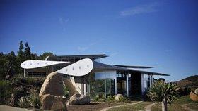 Stylový domov z recyklovaného Boeingu 747