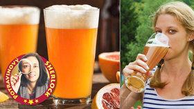 Test citrusových pivních mixů: Pozor na ně! Jeden vzpruží, jiný složí