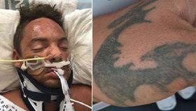 Záhadný muž s vytetovaným drakem na ruce: Policie se snaží identifikovat muže, jehož bezvládné tělo našli v řece