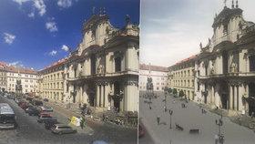 Méně aut, více zeleně a místa pro lidi: Výstava ukazuje budoucí podobu Malostranského náměstí