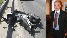 Bob Klepl po nehodě tajil zranění: Tři zlomená žebra a propíchnutá plíce!