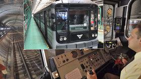 Linka metra A slaví 40 let. Projel se po ní Brežněv, málem zbořila Národní muzeum