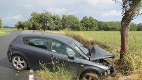 Tragická nehoda na Klatovsku: Po tvrdém nárazu zemřela žena (†30)