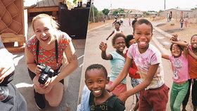 Studentka z Prahy se za dobrodružstvím vydala do Jihoafrické republiky: Nebezpečí hrozí na ulici i v oceánu