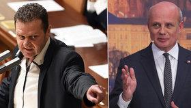 """Za """"mlátičku"""" Ondráčka se postavil sněmovní výbor. Horáček vypěnil: Tolerují lež"""