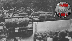 23. srpna 1968: Národ vstoupil do stávky. Z Prahy se stalo bezejmenné město