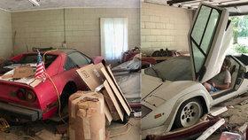 Studentka v babiččině garáži našla auta za miliony! 20 let o nich nikdo nevěděl