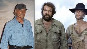Terence Hill (79) pořád pracuje! Jak dnes vypadá filmový parťák Buda Spencera?