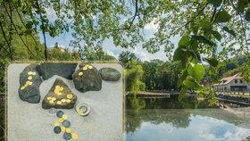 Zlatý poklad na dně rybníku: Nehledali jsme, ale našli, říká kastelánka zámku ve Frýdlantu