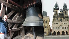 Ondřej Boháč (36) je zvoníkem v Týnském chrámu: Rozhoupat Marii mu trvá minutu!