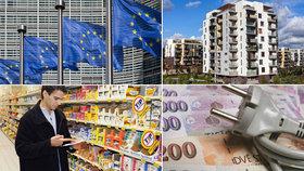 """""""Češi, všechno máte levné!"""" vzkazuje Brusel. Při srovnávání jaksi opomněl platy"""