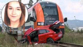Angelika (†18) zemřela na přejezdu, instruktor autoškoly měl čas ji zachránit