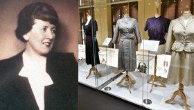 """Česká """"Coco Chanel"""" oblékala Mandlovou i Gollovou: Šaty Hany Podolské vystavuje Uměleckoprůmyslové muzeum"""