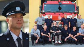 Hasič Vašek (27) pomáhal ostatním, teď potřebuje pomoc sám: Po úrazu skončil na vozíku