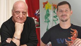 Syn Bořka Šípka (†66) Dalibor: Potatil se! Unikátní foto z rodinné sklárny