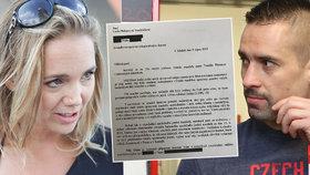 Vondráčková má smůlu, její obří požadavky soud nepřijme, říká renomovaný právník