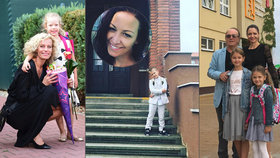 Prvňáčci slavných vyrazili do školy: Prachařová, Kloubková i Janda odvedli děti do lavic