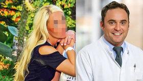 Kokainem na penisu zabil lékař blondýnku (†38). Ať shnije v base, hřmí její otec