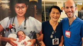 V lékaři poznala dítě, kterému kdysi zachránila život! Po třiceti letech si pamatoval její jméno