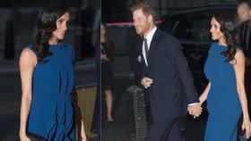 Vévodkyně Meghan s těhotenským bříškem?! Vypadá to rovnou na dvojčata