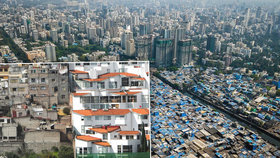 Předměstí vs. slumy: Unikátní snímky z měst, kde chudoba a bohatství žijí ruku v ruce
