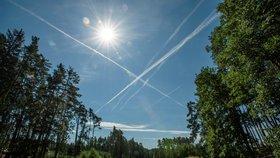 Na Berounsku bylo přes 25 stupňů. Teplotní rekordy padaly třetí den v řadě