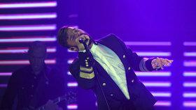Ricky Martin poprvé v Praze: Na show měnil oblečení jako chameleon