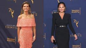 Róby z cen Emmy: V šatech s rozparkem až do pasu se ukázal i kadeřník Van Ness!