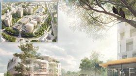 V Radotíně plánují obří přestavbu: Do roku 2022 tu má vzniknout nové náměstí