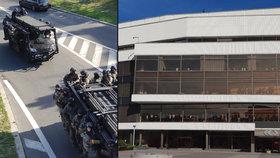 40 teroristů v Kongresovém centru! Největšího cvičení záchranných složek se účastnilo přes 2000 komparzistů