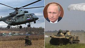 Mohutné manévry v Rusku: Začalo největší vojenské cvičení od dob studené války
