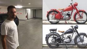 Marek a Ivana procestovali na čezetách celý svět: Milované motorky jim ukradli v Brně z garáže