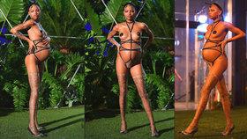 Rihanna vyhnala těhotnou modelku na molo: Porodila, jen co odešla přehlídku