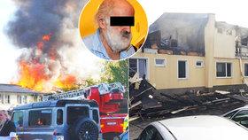 Potvrzeno: Lidské torzo z vyhořelé ubytovny v Plzni patří mladé ženě, obviněný sedí ve vazbě