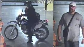 VIDEO: Brýlatý tlouštík ukradl v Holešovicích motorku za 80 tisíc! Nejdřív obhlížel terén, na kamery nemyslel