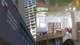 """Za četbou do """"lesa""""? Nová knihovna v Malešicích láká na útulnost i originální vzhled"""