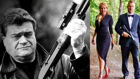 Vendula Pizingerová si pořizuje zbraň! Přitom se jí pistolí zastřelil manžel Karel (†68)