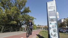Kolárny místo drahých cykloboxů, nové stezky i stojany: Na cyklistiku v Praze letos padne 100 milionů