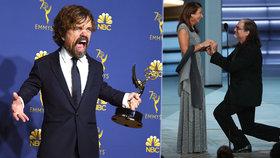 Překvapení na cenách Emmy: Žádost o ruku a »prohra« Hry o trůny!