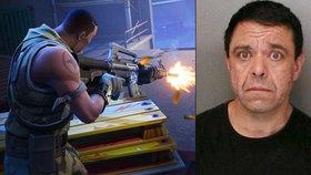 Muž (45) neunesl prohru v online hře: Zabiju tě, vyhrožoval chlapci (11)