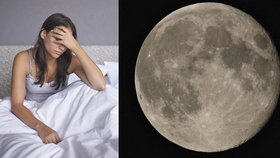 Nemůžete spát? Bude úplněk! Zkuste 5 tipů jak večer usnout!